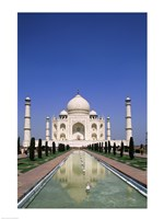 Taj Mahal, Agra, India Reflection Fine Art Print