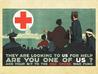 Red Cross War Fund Fine Art Print