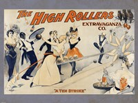High Rollers Extravaganza Co. Fine Art Print