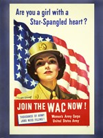 Women's Army Corps Fine Art Print