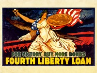 Fourth Liberty Loan Fine Art Print