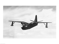 Fighter plane in flight, P5M-1 Marlin - various sizes