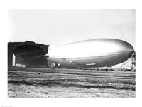 USA, New Jersey, Hindenberg, Airship on a landscape - various sizes