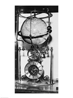 American clock built in 1880 from the James Arthur Collection of Clocks and Watches, New York University Fine Art Print