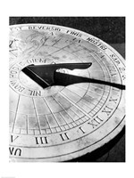 Close up of sundial - various sizes