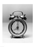 Close up of vintage alarm clock - various sizes