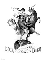 Bock Beer Dance Fine Art Print