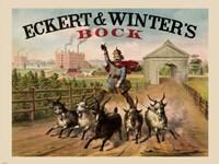 Eckert and Winters Bock Beer Fine Art Print