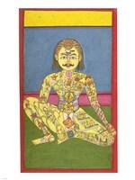 Sapta Chakra, 1899 Fine Art Print
