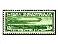 Graf Zeppelin Stamp - various sizes