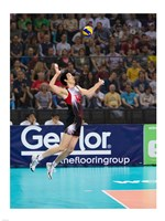 Volleyball Jump Serve Fine Art Print