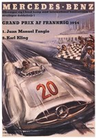 Mercedes Benz 1954 Grand Prix Fine Art Print