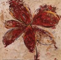 Floral Gesture II Fine Art Print