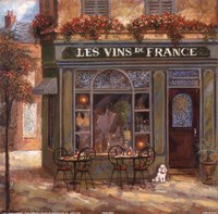 Wine Shop Fine Art Print