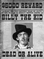 Billy The Kid Wanted Poster Fine Art Print