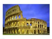 Colosseum, Rome, Italy Framed Print