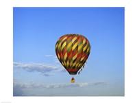 Hot air balloon rising, Albuquerque, New Mexico, USA - various sizes