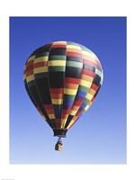 Low angle view of a hot air balloon rising, Albuquerque, New Mexico, USA Fine Art Print