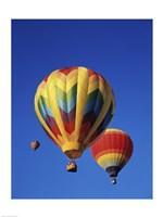 Rainbow Colored Hot Air Balloons