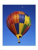 Hot air balloons rising, Albuquerque International Balloon Fiesta, Albuquerque, New Mexico, USA - various sizes