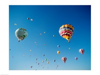 Hot Air Balloons in New Mexico - various sizes