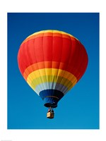 Low angle view of a hot air balloon in the sky, New Mexico, Rainbow - various sizes