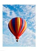 a hot air balloon in the sky, Albuquerque, New Mexico, USA - various sizes