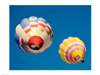 Hot Air Balloons from the Ground - various sizes