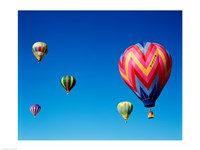 Group of Hot Air Balloons - various sizes