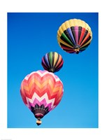 Different Angles of Hot Air Balloons - various sizes
