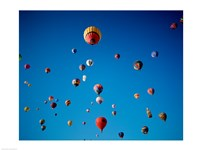 Swarms of Hot Air Balloons - various sizes