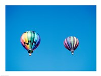 Two Hot Air Balloons Side by Side - various sizes