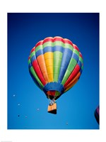 Hot Air Balloon Close Up with a Basket - various sizes