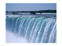 Close-up of a waterfall, Niagara Falls, Ontario, Canada Framed Print