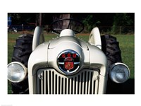 Ford Tractor, model 600 made in 1954, close-up Fine Art Print
