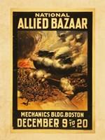 National Allied Bazaar Fine Art Print