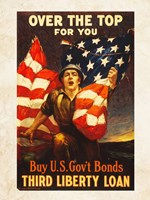 Over the Top US Government Bonds Fine Art Print