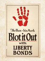 Blot it Out with Liberty Bonds Fine Art Print