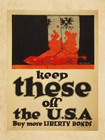 Keep These Off the USA Buy More Liberty Bonds Fine Art Print