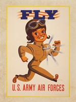 Fly U.S. Army Air Forces Framed Print
