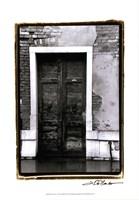 "The Doors of Venice III by Laura Denardo - 13"" x 19"", FulcrumGallery.com brand"