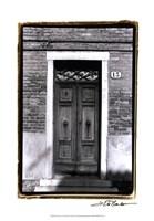 "The Doors of Venice IV by Laura Denardo - 13"" x 19"", FulcrumGallery.com brand"