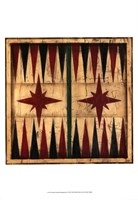 Small Antique Backgammon Fine Art Print