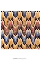 """Flame Stitch III by Chariklia Zarris - 13"""" x 19"""""""