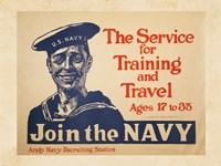 Join the Navy Fine Art Print