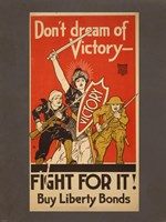 Don't Dream of Victory - Fight For It! Fine Art Print