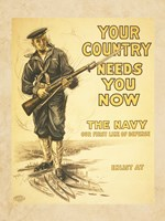 Your Country Needs You Now Fine Art Print