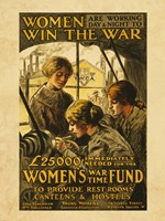 Women Win the War Fine Art Print