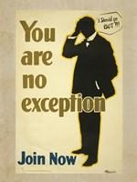 You Are No Exception Fine Art Print