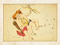 Gemini Zodiac Sign Fine Art Print